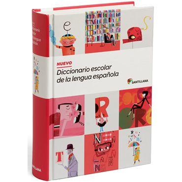 Nuevo diccionario escolar lengua española.Santillana