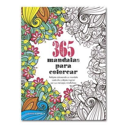 365 mandalas para colorear · Cúpula – Papelería Lozano