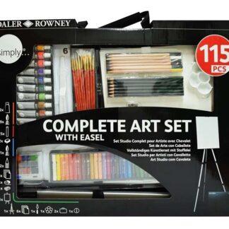 set de arte 115 piezas